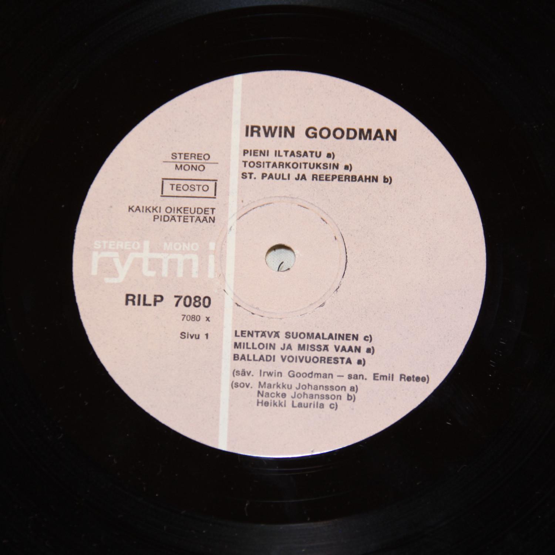 Irwin Goodman - St. Pauli Ja Reeperbahn / Rakkain